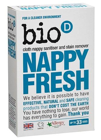Zdjęcie Bio-D Nappy Fresh antybakteryjny dodatek do prania pieluch wielorazowych